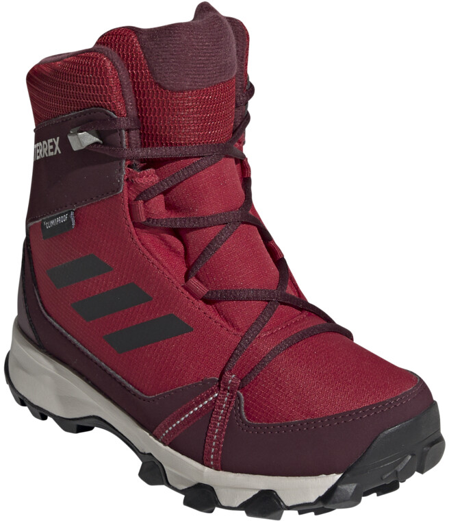 adidas TERREX Snow Climaproof Climawarm High-Cut Schuhe Kinder active  maroon/core black/maroon